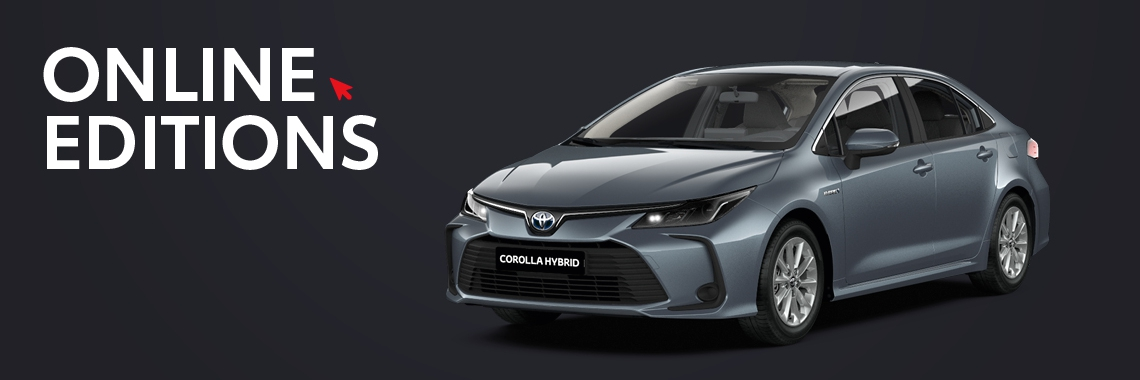 Corolla Sedan Online Editions